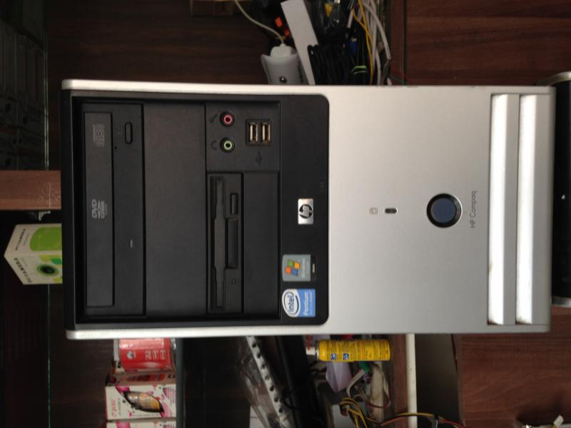 Dual Core With Lcd (USED HP) @ 7999/-