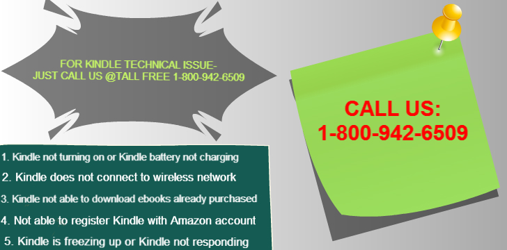 Amazon Kindle Fire Support Phone Number