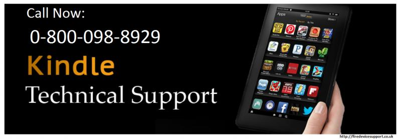 Unable to login? Get Amazon Kindle Fire Support